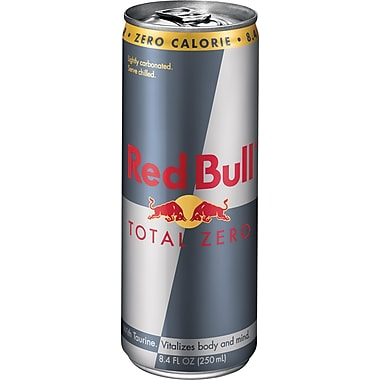 Red Bull® Total Zero, 8.4 oz. Cans, 24/Case