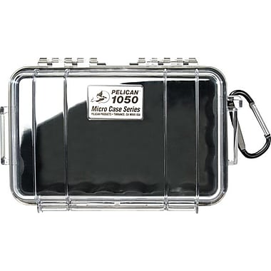 Pelican 1050 Micro Case, Clear With Black Liner