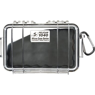 Pelican 1040 Micro Case, Clear With Black Liner