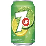7UP 355ml Cans, 24-Pack