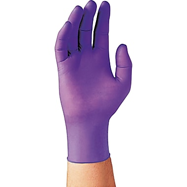 Kimberly-Clark Nitrile Exam Gloves, Purple, Small
