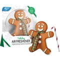 Bright Air Holiday Gingerbread Man Air Freshener, Ginger Cookie