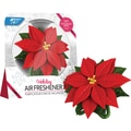 Bright Air Holiday Poinsettia Air Freshener, Cinnamon Spice