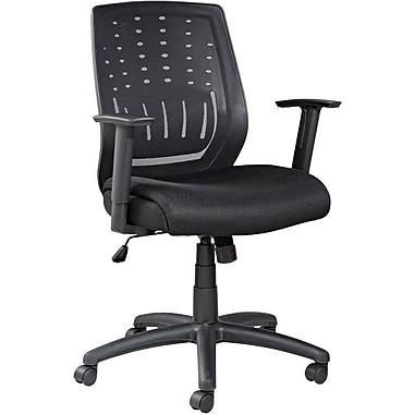 Alera® Eikon Mesh Chair With T-Bar Arms, Black