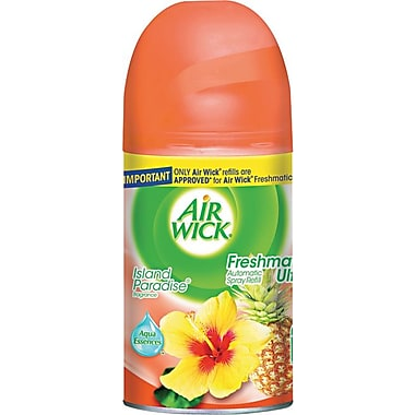 Air Wick® Freshmatic® Ultra Air Freshener, Refill, Island Paradise, 6.17 oz.