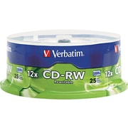Verbatim® CD-RW Disc, 700MB Capacity