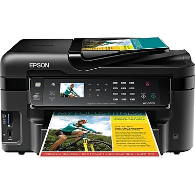 Epson® WorkForce® WF-3520 Color Inkjet All-in-One Printer