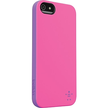 Belkin Grip Candy Case for iPhone 5, Pink/Purple