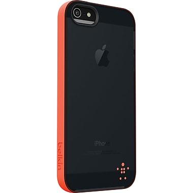 Belkin Grip Candy Sheer Case for iPhone 5, Hazard/Blacktop