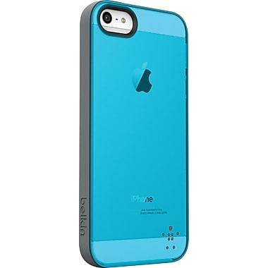 Belkin Grip Candy Sheer Case for iPhone 5, Gravel/Protection