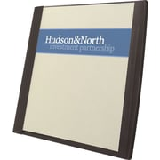 Report Cover, Frosted Front, Rib-Embossed Cover Stock, 50 Sheet Capacity, Brochure/Business Card Holder, Black, 5/Pk