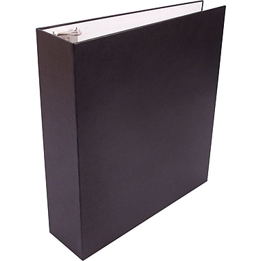 2in. Staples Sustainable Earth Recyclable Binder, Black