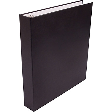 1in. Staples Sustainable Earth Recyclable Binder, Black