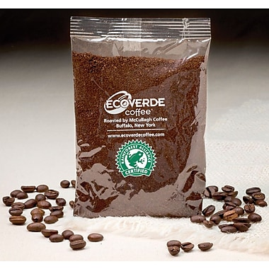 Ecoverde Coffee Guatemalan Medium Roast Ground Coffee, Decaffeinated, 42 Packets/Box