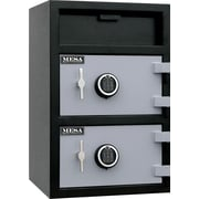Mesa™ 3.6 Cubic Ft. Capacity Double Door Depository Safe with Premium Delivery