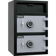 Mesa™ 3.6 Cubic Ft. Capacity Double Door Depository Safe with Standard Delivery