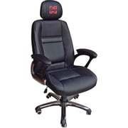 Wild Sports NCAA Leather Executive Chair, Nebraska Cornhuskers