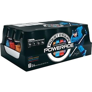 Powerade – Boisson pour le sport ION4, arômes variées, bouteilles de 591 ml,