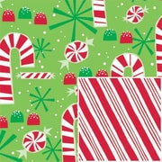 Contempo Canes Reversible Gift Wrap