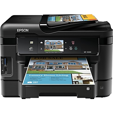 Epson® WorkForce® WF-3540 Color Inkjet All-in-One Printer