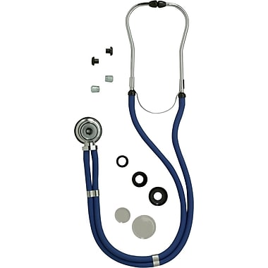 Medline Sprague Rappaport Stethoscopes, Red