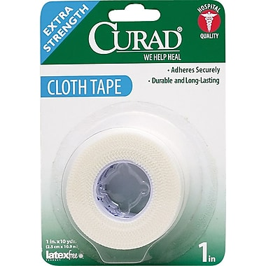 Curad® Cloth Tapes, 10 yds L x 1in. W, 24/Case