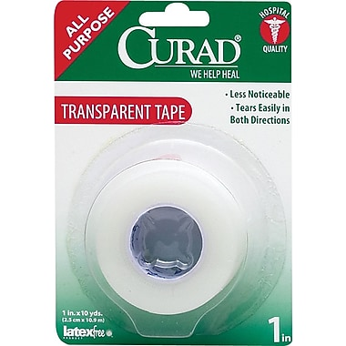 Curad® Sport Tapes, 10 yds L x 1in. W, 24/Pack