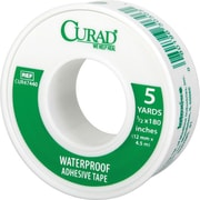 Curad® Waterproof Adhesive Tapes, 5 yds L x 1/2 W, 24/Case