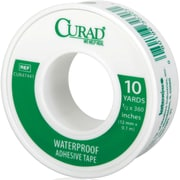 Curad® Waterproof Adhesive Tapes, 10 yds L x 1/2 W, 24/Case