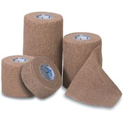 """Co-Flex Med™ Latex Non-sterile Self-adherent Bandages, Assorted Color, 5 yds L x 3"""" W, 24/Pack"""