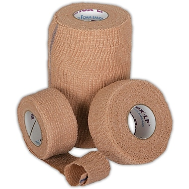 Co-Flex® LF2 Latex-free Non-sterile Cohesive Bandages, Tan, 5 yds L x 1in. W, 30/Pack