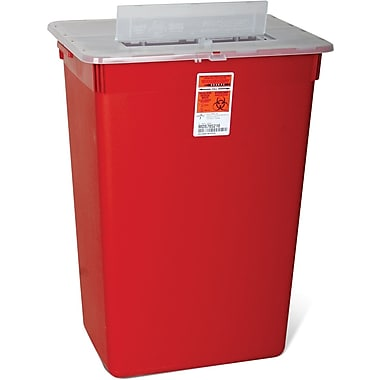 Medline Biohazard Multipurpose Sharps Containers, 10 gal.