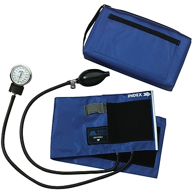 Medline Compli-Mates Aneroid Sphygmomanometers, Navy, Adult