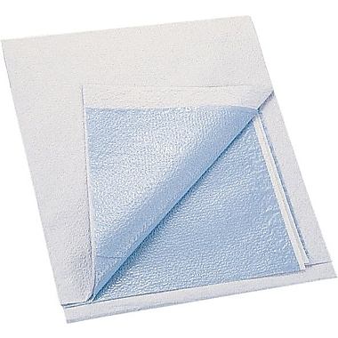 Medline Tissue / Poly Exam Sheets, 40in. L x 48in. W, Blue