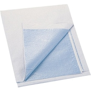 "Medline Tissue / Poly Exam Sheets, 40"" L x 48"" W, Blue"