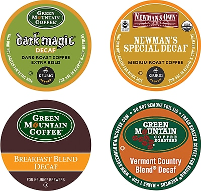 Green Mountain Coffee Variety Decaf Coffee K-Cup Pods, 88/Ct 260693