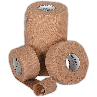 Co-Flex® LF2 Latex-free Non-sterile Cohesive Bandages, Tan, 5 yds L x 3in. W, 24/Pack