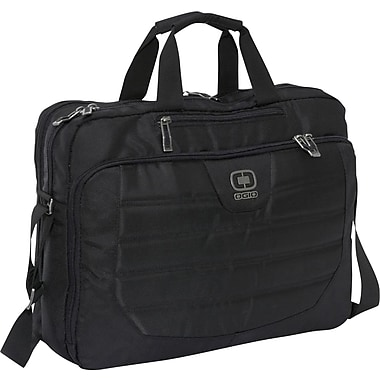 OGIO 17.3in. Top-Zip Laptop & iPad Case, Black
