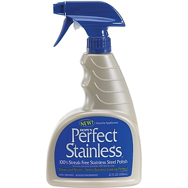 Hope's® Perfect Stainless, Stainless Steel Polish, 22 oz.