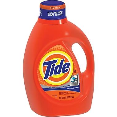 Tide HE Laundry Detergent, Original Scent, 100 oz.