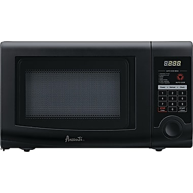 Avanti .7 CU. FT. Microwave, Black