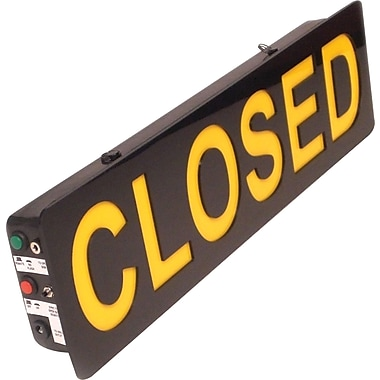 Mystiglo LED Closed In-Light Sign