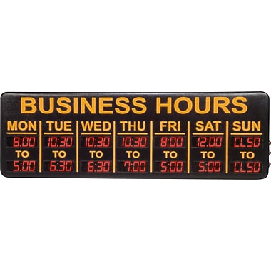 Mystiglo Digital LED Business Sign