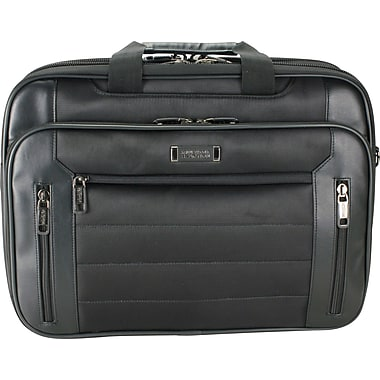 Kenneth Cole Reaction Top Zip EZ Scan Computer Case, Black