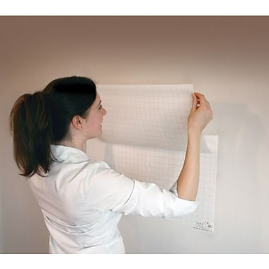 Magic Whiteboards Gridded Magic Whiteboard 25 Sheet
