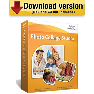 Wondershare Photo Collage Studio for Windows (1-User) [Download]