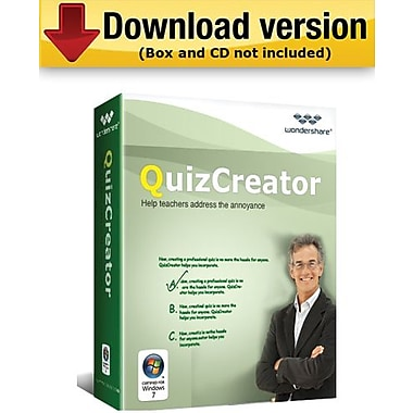 Wondershare QuizCreator for Windows (1-User) [Download]