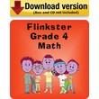 Flinkster Grade 4 Math for Windows/Mac