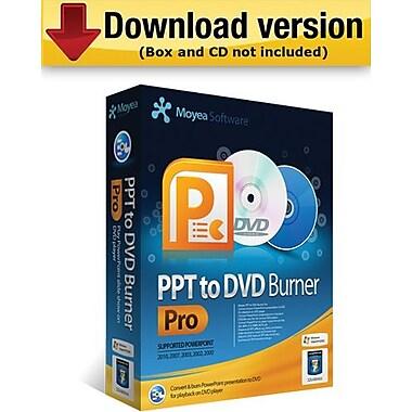 Moyea – PPT to DVD Burner Pro pour Windows (1 utilisateur) [Téléchargement]