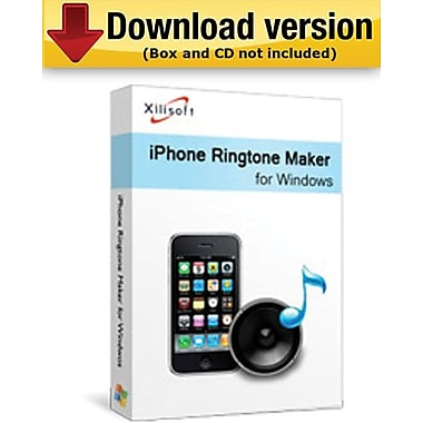 Xilisoft – iPhone Ringtone Maker pour Windows (1 utilisateur) [Téléchargement]